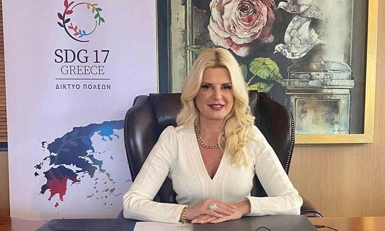Μ. Πατούλη-Σταυράκη:  Η Γυναίκα αποτελεί φορέα οραμάτων, καινοτόμων ιδεών και προτάσεων
