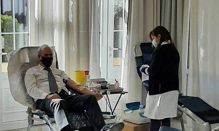 45 μονάδες αίματος συλλέχθησαν στην εθελοντική αιμοδοσία στις 19/1 στον Δήμο Κηφισιάς