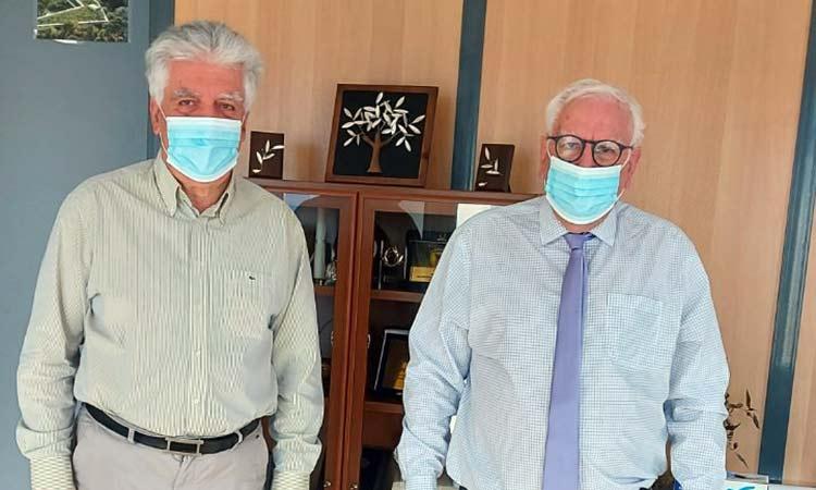 Με τον δήμαρχο Αγ. Παρασκευής συναντήθηκε ο αντιδήμαρχος Πεύκης Π. Ιωάννου