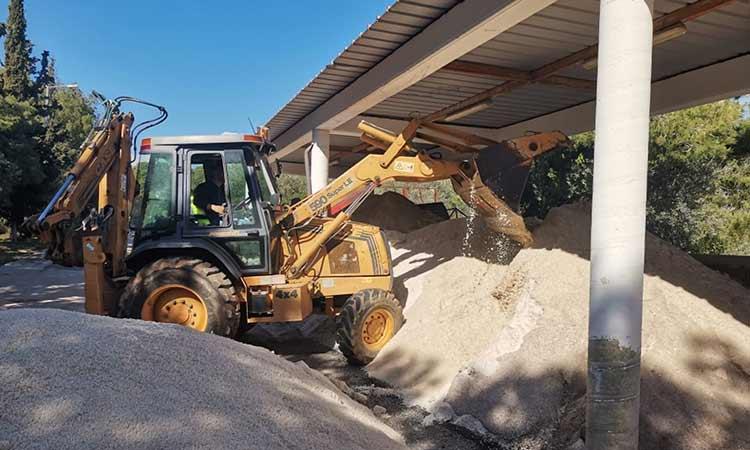 Επιχειρησιακή ετοιμότητα στον Δήμο Βριλησσίων ενόψει έντονων καιρικών φαινομένων