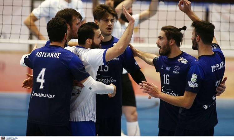 Θρίαμβος της Κηφισιάς επί του ΠΑΟΚ με 3-2 σετ για τη 14η αγωνιστική της Volley League