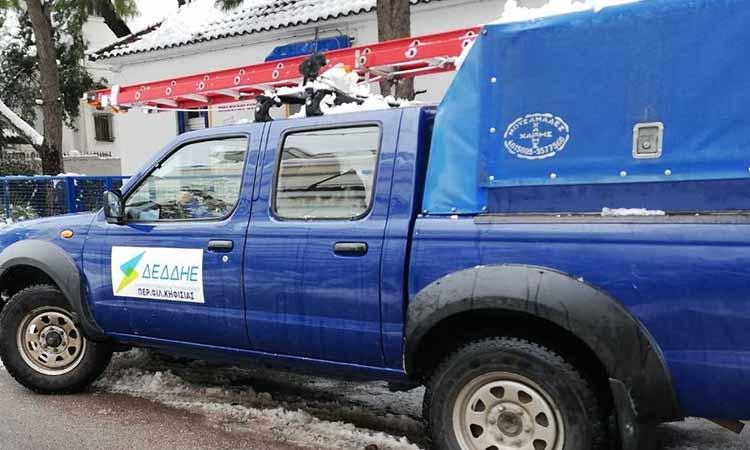 Εντός της ημέρας η πλήρης αποκατάσταση του δικτύου ηλεκτροδότησης στα Βριλήσσια