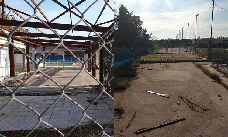 Νέα Πνοή: Απαράδεκτη εικόνα εγκατάλειψης ενός ακόμα δημοτικού χώρου στα Βριλήσσια