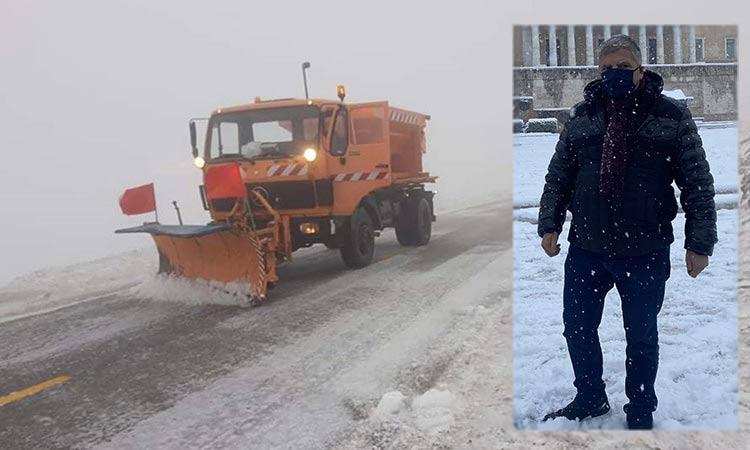 Ισχυρές συστάσεις της Περιφέρειας Αττικής προς τους πολίτες να αποφεύγουν κάθε μετακίνηση λόγω κακοκαιρίας