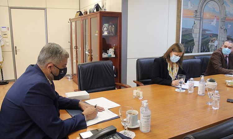 Σύμφωνο Συνεργασίας μεταξύ Περιφέρειας Αττικής και ΕΚΤ