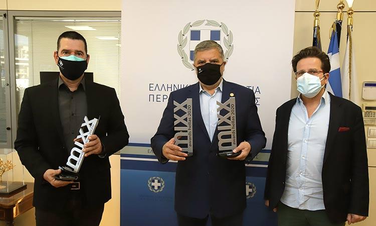 Δύο χρυσά βραβεία για την τουριστική καμπάνια της Περιφέρειας Αττικής