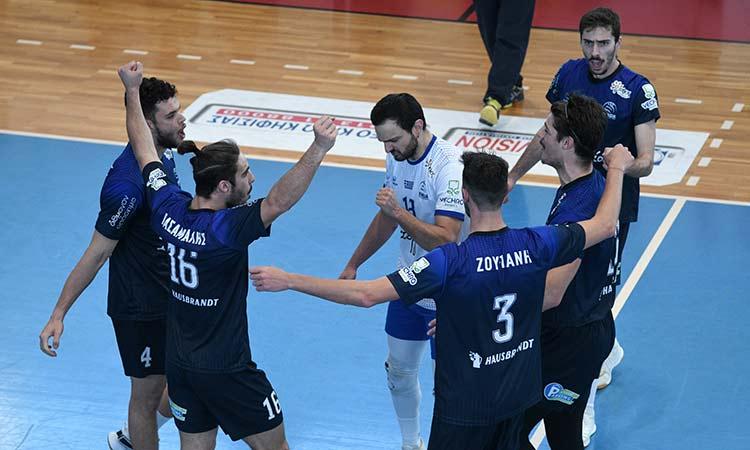 Volley League (θέσεις 5-8): Επιβεβαίωσε τον τίτλο του φαβορί η Κηφισιά κερδίζοντας 3-0 τον ΟΦΗ