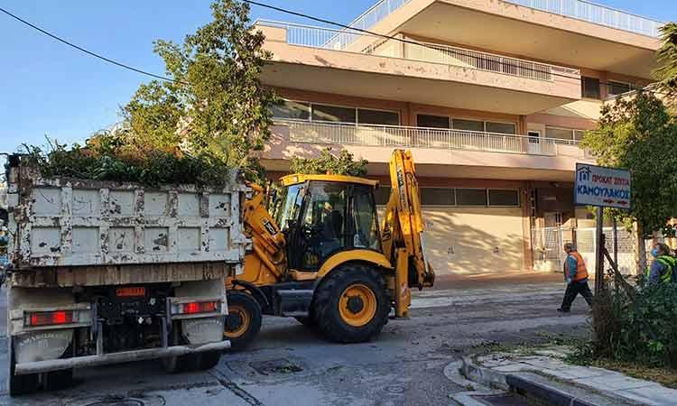 «Τετάρτη Καθαριότητας» στην Μποφίλια από τον Δήμο Μεταμόρφωσης