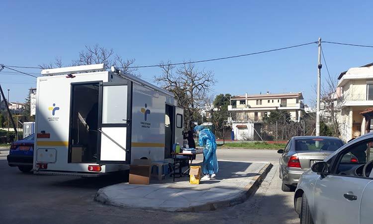 620 drive through rapid tests πραγματοποιήθηκαν στον Δήμο Λυκόβρυσης-Πεύκης – 4 θετικοί στην Covid-19