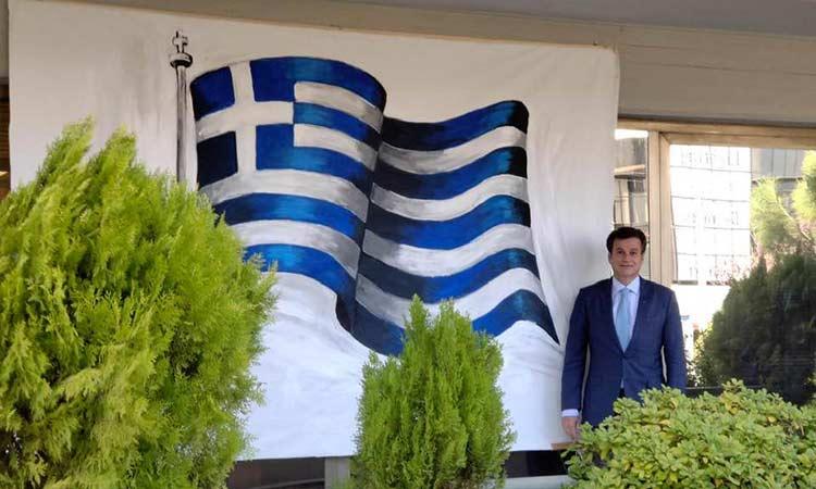 Δ. Γαλάνης: Υψώνουμε την ελληνική σημαία σε κάθε σπίτι σε Φιλοθέη και Ψυχικό