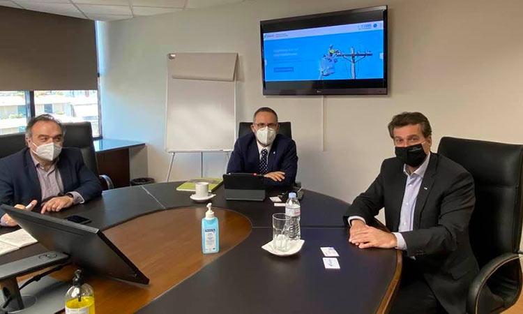 Για την υπογειοποίηση των ηλεκτροφόρων καλωδίων σε Φιλοθέη και Ψυχικό συζήτησε ο δήμαρχος με τη διοίκηση του ΔΕΔΔΗΕ