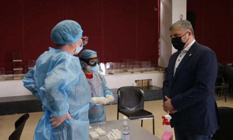 Συνεχίστηκε η διενέργεια rapid tests σε ειδικά σχολεία της Καλλιθέας και ΜΦΗ σε Χολαργό και Αθήνα