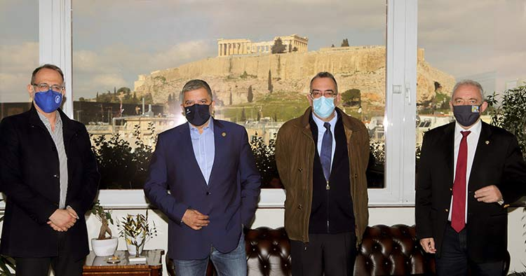 Προγραμματική σύμβαση για θέματα πολιτικής προστασίας Περιφέρειας, ΕΚΠΑ και Αστεροσκοπείου Αθηνών