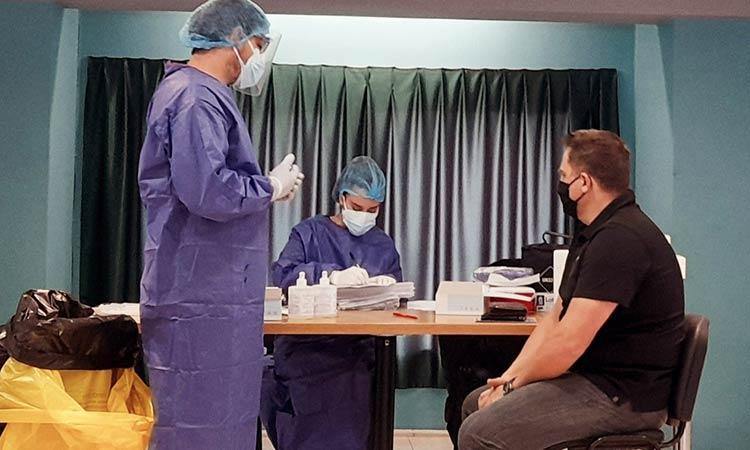 180 tests Covid-19 σε εργαζόμενους του Δήμου Χαλανδρίου – Ούτε ένας θετικός στον ιό