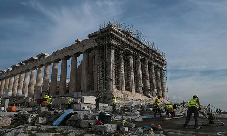 Σύλλογος Χαλανδρίου «Αργώ» για έργα στην Ακρόπολη: Απαξίωση της ανεκτίμητης πολιτιστικής κληρονομιάς των προγόνων μας
