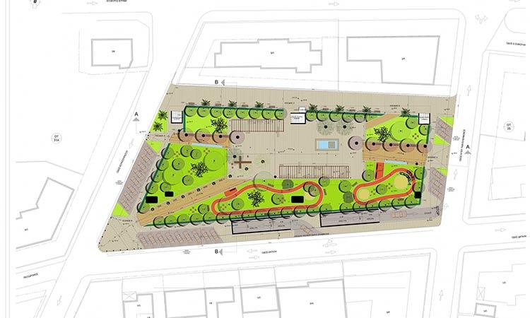 Η κατασκευή υπογείου χώρου στάθμευσης στην κεντρική πλ. Πεύκης στην αίτηση του Δήμου για το πρ. «Αντώνης Τρίτσης»