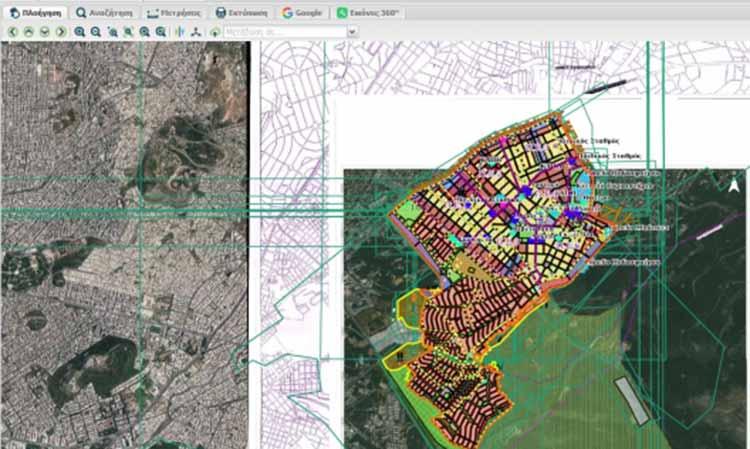 Δήμος Παπάγου-Χολαργού: Σε λειτουργία η νέα έκδοση του Συστήματος Γεωχωρικών Πληροφοριών