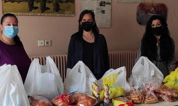 Διανομή τροφίμων για το Πάσχα σε 103 οικογένειες από τον Δήμο Φιλοθέης-Ψυχικού