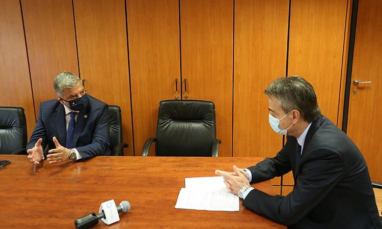 Για προοπτικές συνεργασίας Περιφέρειας Αττικής με ΚτΥπ Α.Ε. συζήτησαν Γ. Πατούλης και Τ. Κατσίπος