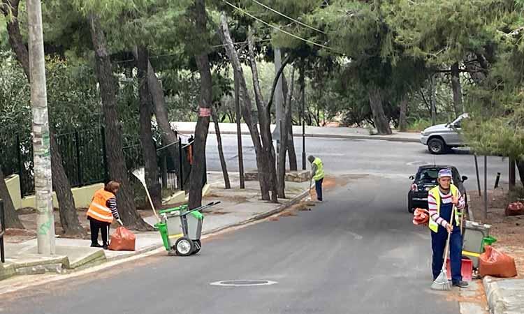 «Επιχείρηση καθαρισμού» στα τρία Λύκεια του Δήμου Πεντέλης που ανοίγουν τη Δευτέρα