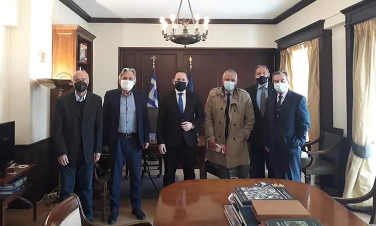 Με τον αν. υπουργό Εσωτερικών συναντήθηκε η Ένωση Δημάρχων Αττικής