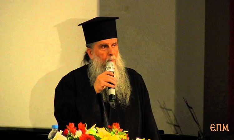 Συλλυπητήρια Γ. Πατούλη για την απώλεια του αρχιμανδρίτη Σαράντη Σαράντου