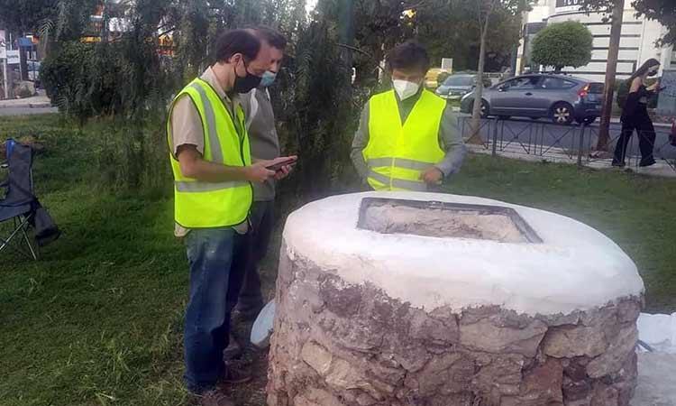 Συνεχίζονται οι προπαρασκευαστικές εργασίες για το έργο του Αδριάνειου Yδραγωγείου