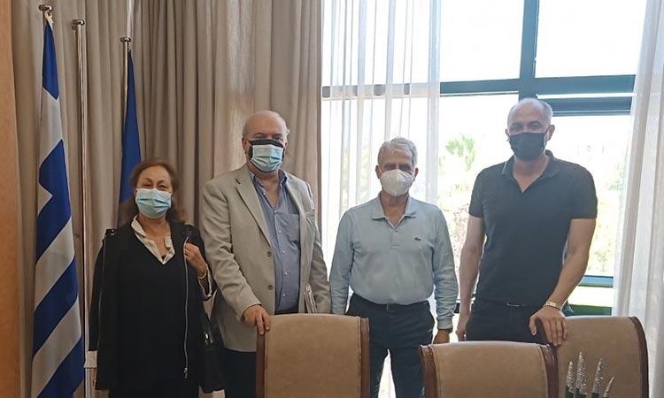 Στρ. Σαραούδας: Πολύ χρήσιμη η λειτουργία του Τοπικού Ιατρείου Μεταμόρφωσης ως εμβολιαστικό κέντρο