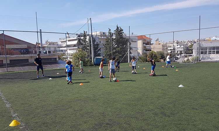 Προπονήσεις ποδοσφαίρου για παιδιά ειδικής αγωγής ξεκινούν από τις ακαδημίες του Δήμου Ηρακλείου Αττικής