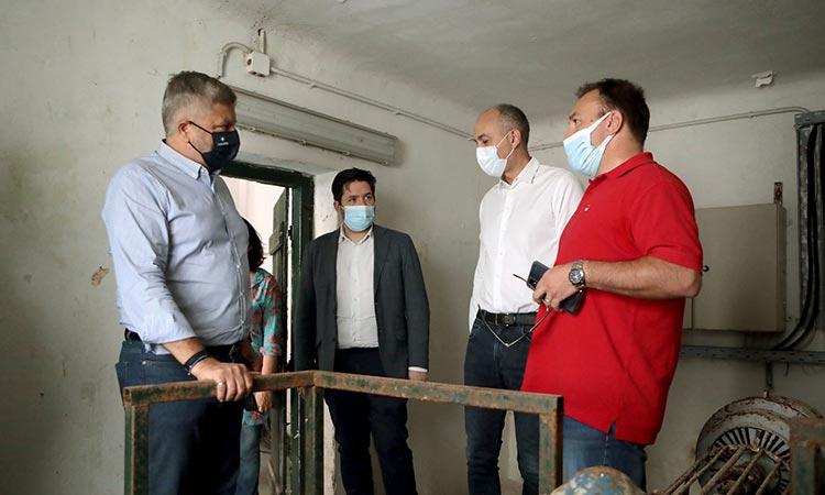 Συνάντηση Σαραούδα-Πατούλη για την ανάπλαση του Αδριάνειου Υδραγωγείου