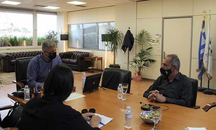 Ενεργειακές παρεμβάσεις σε σχολεία του Δήμου Νίκαιας-Αγ. Ι. Ρέντη με συμβολή της Περιφέρειας Αττικής