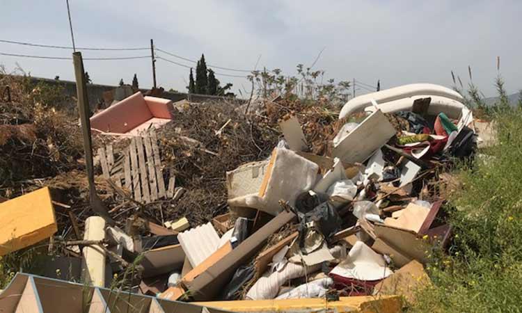 «Χωματερή» δίπλα στο μοναστήρι της Αγίας Ειρήνης Χρυσοβαλάντου καταγγέλλει η Συμμαχία Πολιτών