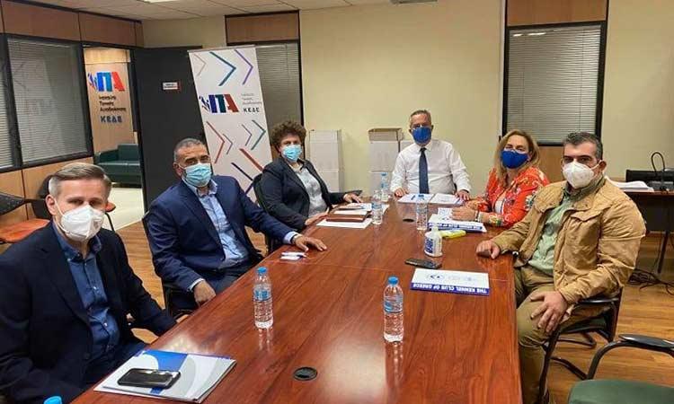 Συνάντηση εργασίας για το ν/σ για τα ζώα συντροφιάς είχε ο δήμαρχος Παπάγου-Χολαργού