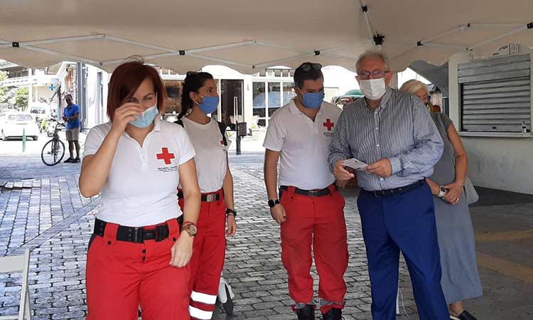 Θ. Αμπατζόγλου: Χρόνια πολλά στον Ελληνικό Ερυθρό Σταυρό