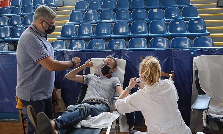 Γ. Πατούλης: Η προσφορά των εθελοντών αιμοδοτών είναι ανεκτίμητη