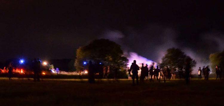 Γαλλία: Eπεισόδια σε «ρέιβ» πάρτι – 5 χωροφύλακες τραυματίστηκαν, ένας νεαρός ακρωτηριάστηκε