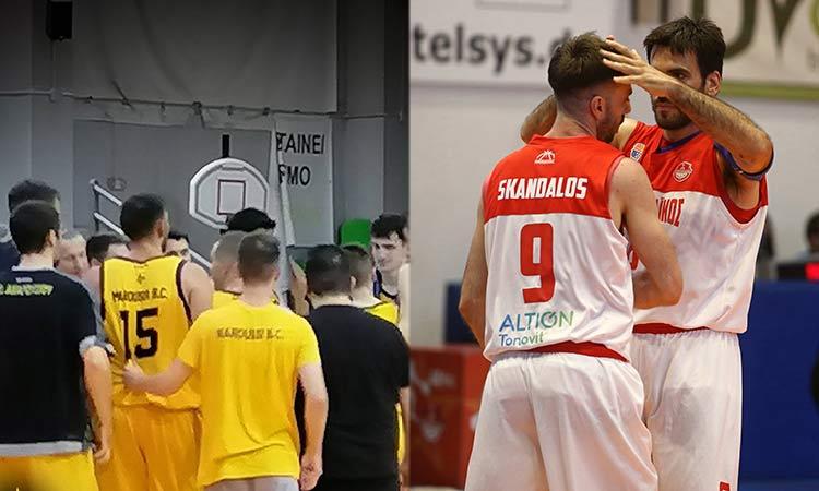 Α2 μπάσκετ ανδρών: Ηττήθηκε το Μαρούσι από τον Ολυμπιακό, «διπλό» του Πανερυθραϊκού στο Παγκράτι