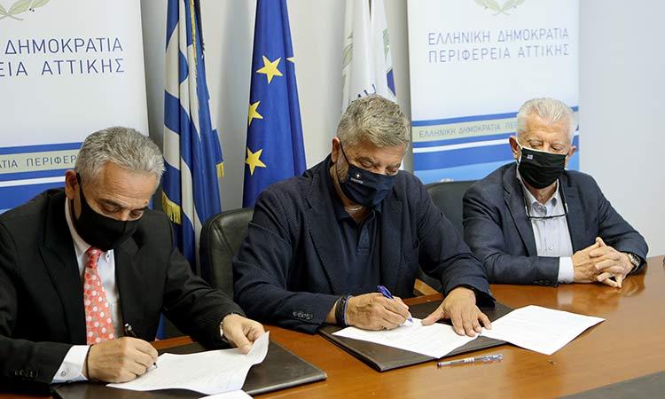 Ξεκινά η κατασκευή του νέου κλειστού γυμναστηρίου Ν. Σμύρνης με χρηματοδότηση από την Περιφέρεια Αττικής