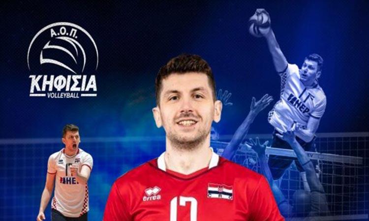 Παίκτης του ΑΟΠ Κηφισιάς ο διεθνής Κροάτης κεντρικός Ιβάν Μίχαλι