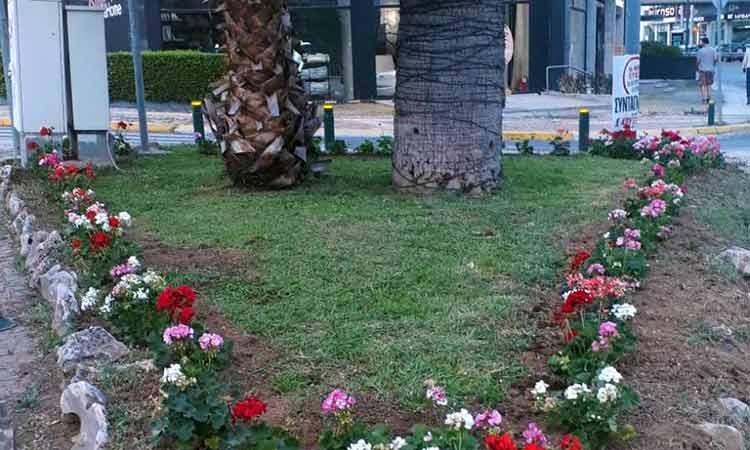 Εργασίες καθαριότητας και συντήρησης πρασίνου στον Δήμο Αμαρουσίου