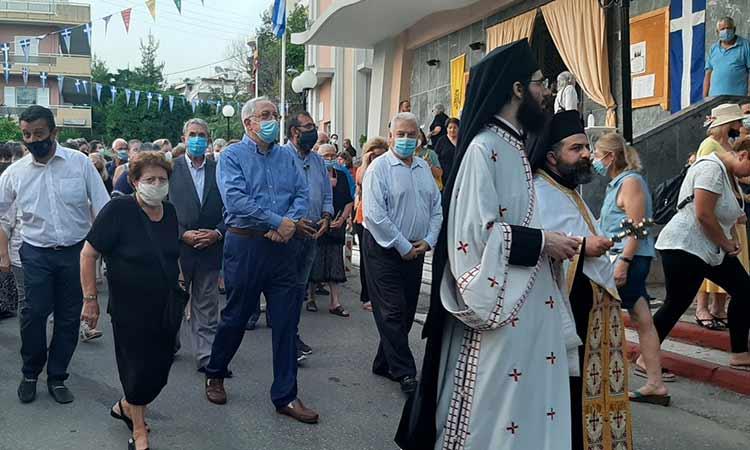 Με επιτυχία πραγματοποιήθηκε ο εορτασμός του Ι.Ν. Αγίων Αναργύρων Κοσμά και Δαμιανού Αμαρουσίου