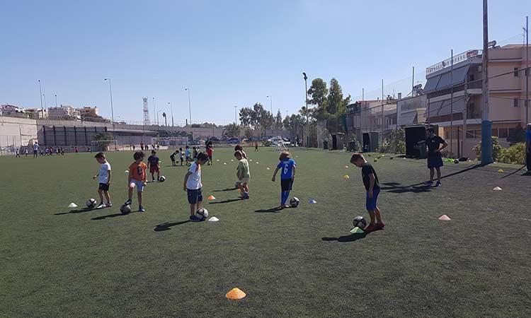 Ξεκίνησαν οι εγγραφές στις ακαδημίες ποδοσφαίρου στον Δήμο Ηρακλείου Αττικής