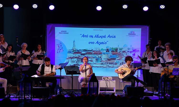 «Ευχαριστώ» Δ. Θωμαΐδου σε όσους στήριξαν τη βραδιά παραδοσιακής μουσικής «Από τη Μικρά Ασία στο Αιγαίο»