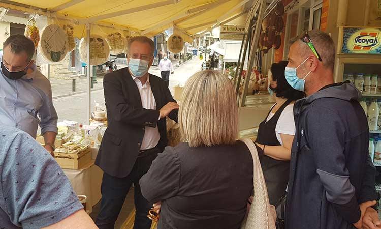 Επίσκεψη στη Ν. Ιωνία πραγματοποίησε ο βουλευτής Γ. Κουμουτσάκος
