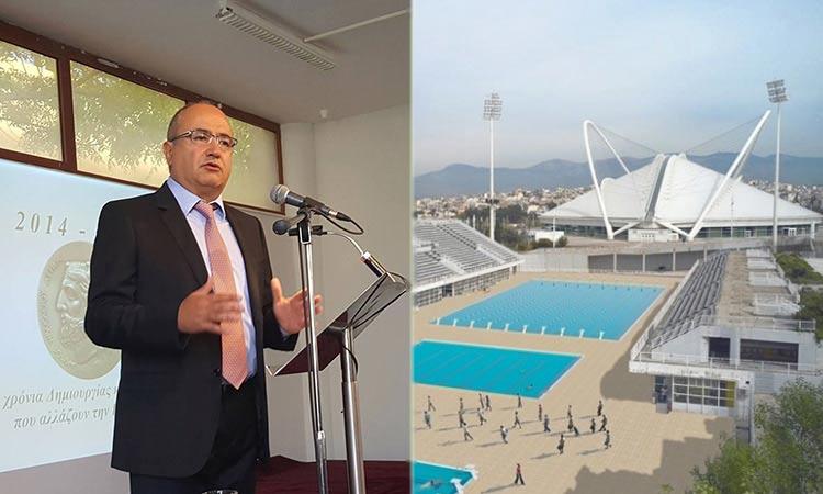 N. Μπάμπαλος: Θέλουμε το ΟΑΚΑ πιο πράσινο, πιο λειτουργικό, πιο προσβάσιμο στους πολίτες και τους αθλητές