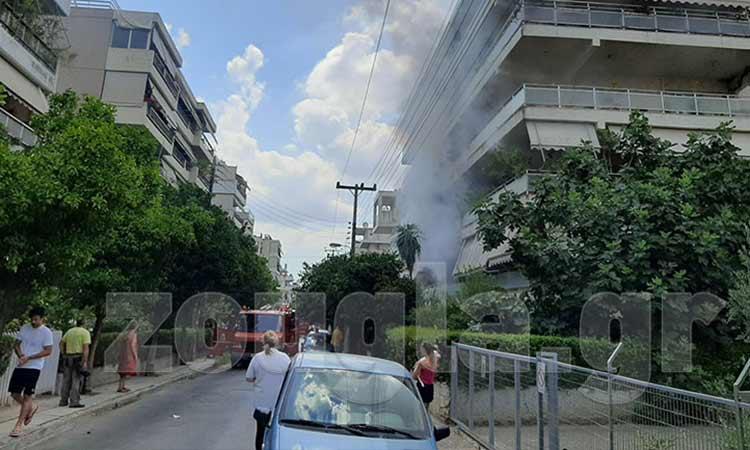 Φωτιά σε διαμέρισμα στο Μαρούσι – Απεγκλωβίστηκε άτομο