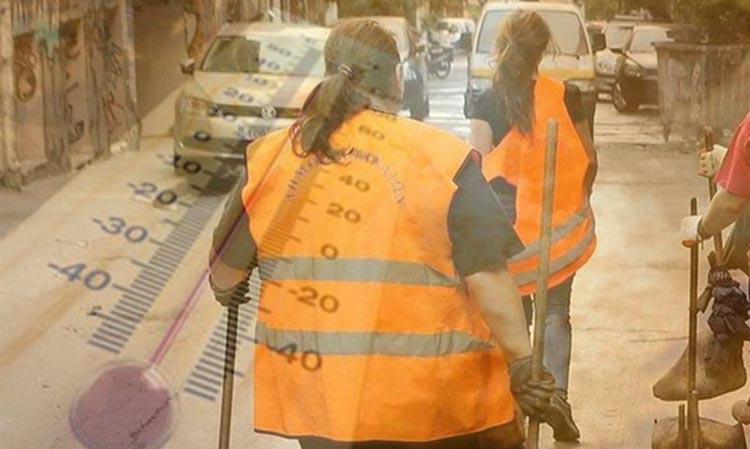 Έκτακτα μέτρα προστασίας για πολίτες και εργαζομένους στους δήμους λόγω καύσωνα