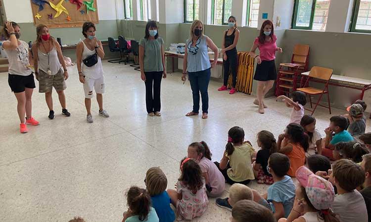 «Αυλαία» στο Πρόγραμμα Καλοκαιρινής Δημιουργικής Απασχόλησης στον Δήμο Πεντέλης