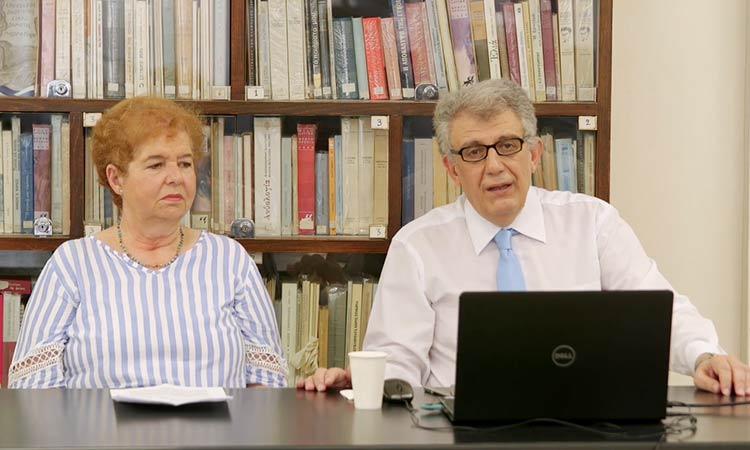 Ομιλία για τη Φιλοσοφική Συμβουλευτική μέσω του Αρχαίου Δράματος από το Ελεύθερο Πανεπιστήμιο Δήμου Κηφισιάς