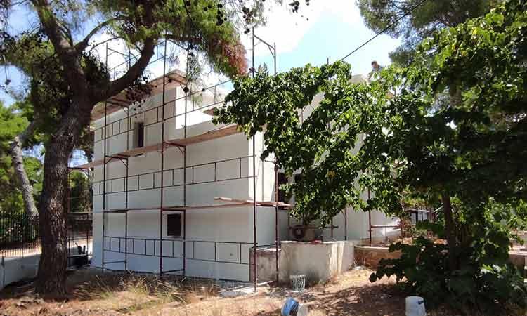 Ολοκληρώθηκαν οι εργασίες στο κτήριο του πρώην Αστυνομικού Σταθμού Εκάλης